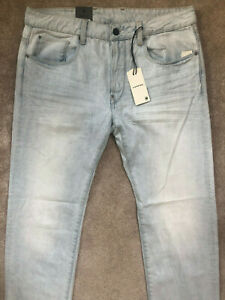 G-STAR-RAW-LIGHT-AGED-034-ATTACC-STRAIGHT-034-FIT-CALC-JEANS-33-034-x-34-034-NEW-amp-TAGS