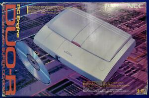SOLO-RITIRO-in-Negozio-Console-PC-Engine-DUO-R-NEC-Super-CD-ROM-HE-System-Jap