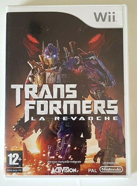 Transformers La Revanche - Nintendo Wii - PAL - Complet
