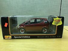 Maisto 1:18 Scale Special Edition 1997 Mercedes-Benz A Class Die Cast