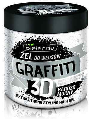 BIELENDA STYLING HAIR GEL GRAFFITI 3D EXTRA STRONG