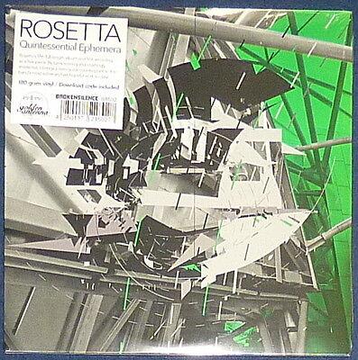 Rosetta Quintessential Ephemera On Hunter Green Vinyl