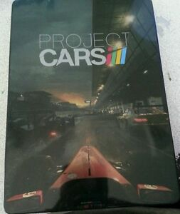 NEW-PS4-or-XBox-One-Project-Cars-RARE-metal-Case-BEST-DEAL