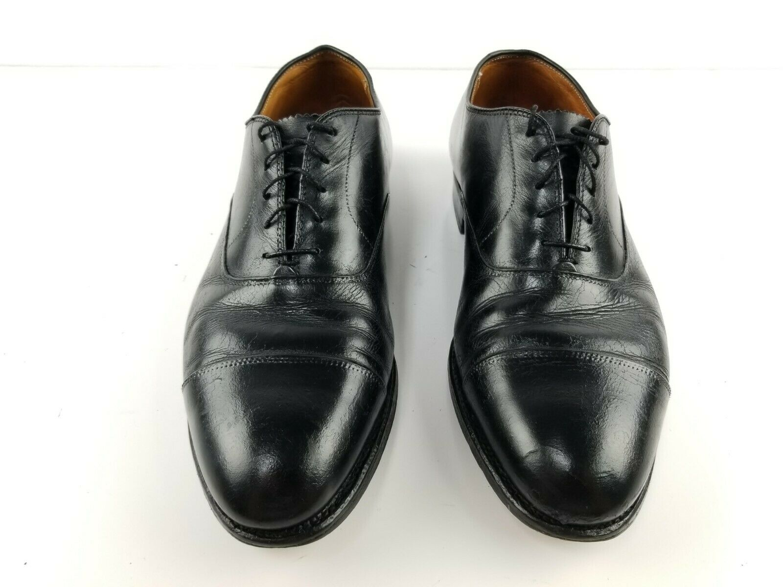 Alden 907 Cap Toe Hommes Noir Chaussures Taille 11.5 B \ D
