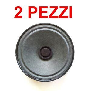 Coppia Altoparlante 1W 8 Ohm SCHERMATO 64 x 18 mm (2 pezzi) Speaker Diffusore
