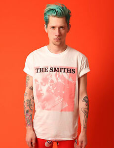 THE-SMITHS-T-SHIRT-VTG-PUNK-80-039-S-SHEILA-TAKES-A-BOW-MORRISSEY-PINK