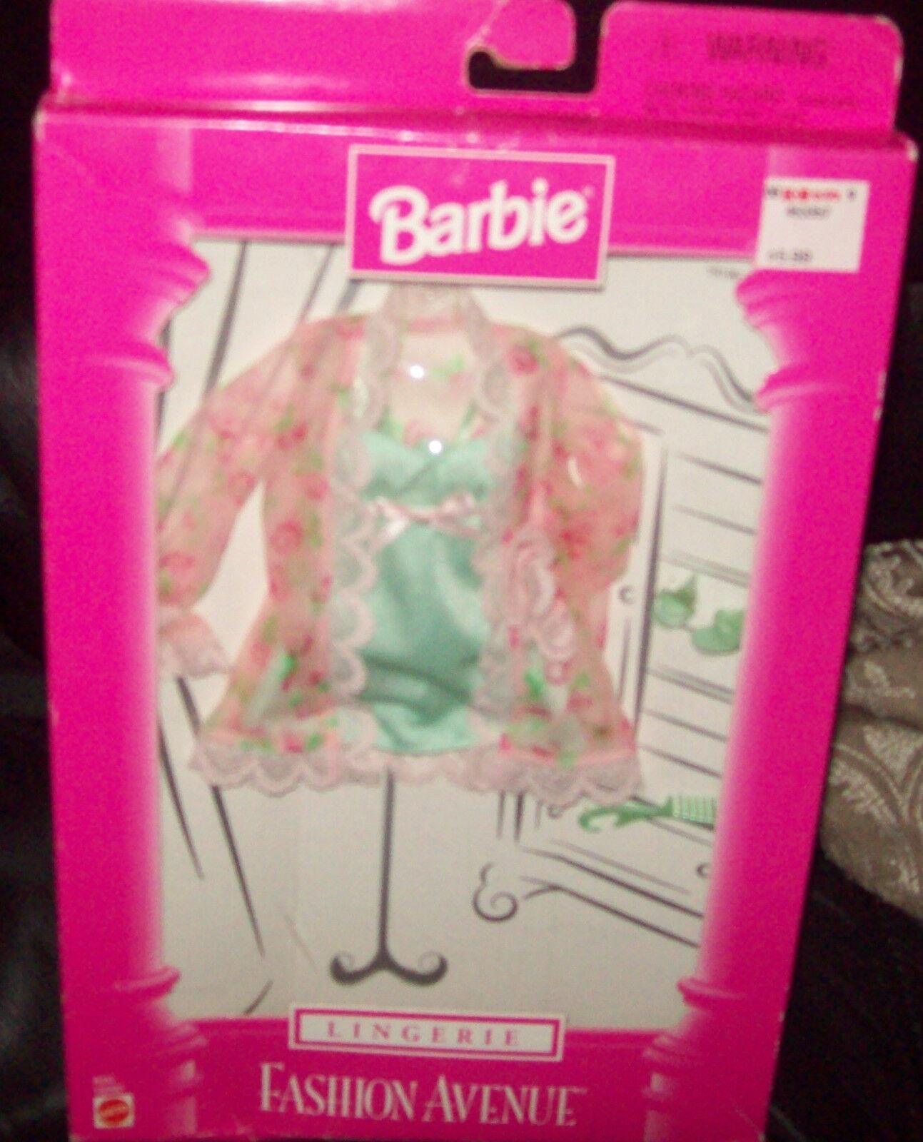 1998 Barbie Fashion Avenue Lingerie  Outfit by Mattel MIB