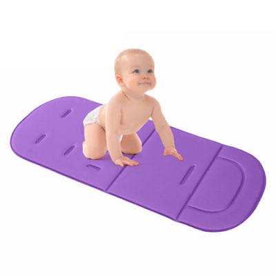 Baby Stroller Car Seat Padding Pushchair Pram Liner Pad Cushion Cover Purple