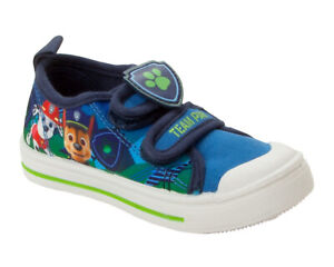 BOYS OFFICIAL PAW PATROL CASUAL CANVAS PUMPS TRAINERS SHOES KIDS UK SIZE 5-10