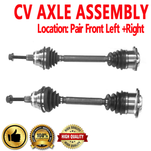 Complete Front Driver Side CV Axle Shaft Automatic for 90-93 Honda Accord W//o ABS