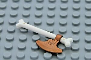 NEW Lego Minifig GOLDEN SPIKED BONE CLAW AXE Ninjago Ninja Gold Skeleton Weapon