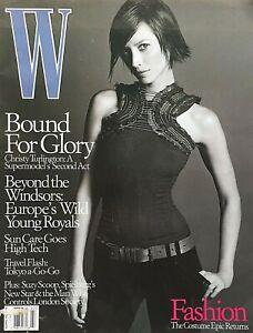 CHRISTY TURLINGTON July 2001 W Magazine KAROLINA KURKOVA / HANNELORE KNUTS