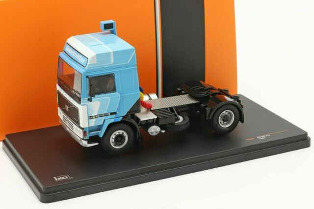 VOLVO F12 GLOBETROTTER 1220 WHITE BLUE 1981 IXO TR090 1/43 CAMION TRUCK TRACTEUR
