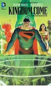 DC KINGDOM COME DELUXE EDITION HARDCOVER GRAPHIC NOVEL ALEX ROSS SUPERMAN BATMAN