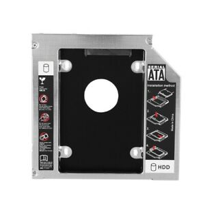 SATA-HDD-SSD-Hard-Drive-Caddy-Carrier-Tray-for-12-7mm-DVD-ROM-Optical-Bay