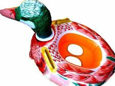 Multicolour Ducky,  Baby Swim Seat/ Swim Boat , Inflatable, New