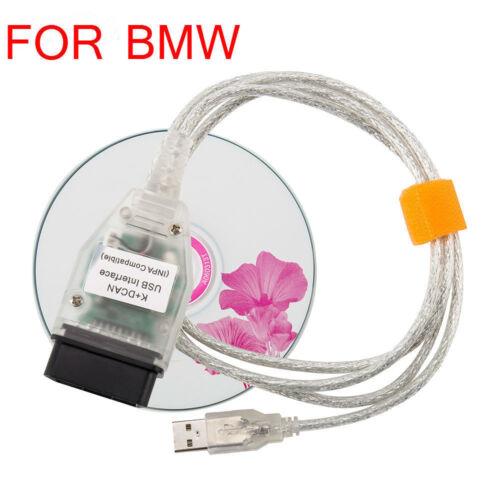 INPA//Ediabas K+DCAN USB Interface OBD2 Car Diagnostic Cable For BMW E90,E91,E92