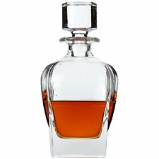 Lily's Home Wine, Liquor and Whiskey Decanter with Glass Stopper, New, Free Ship