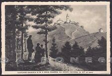 GENOVA CERANESI 22 SANTUARIO N. S. della GUARDIA Cartolina viaggiata 1935