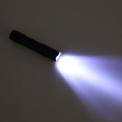 Mini Led étanche lampe de poche rechargeable torche Super Bright batterie LTA