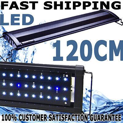 Beamswork Aquarium Fish Tank Aqua LED Light 120cm 50W Bright 10,000k BRIGHT