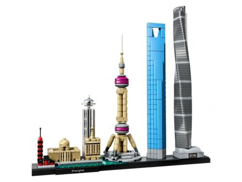 LEGO Architecture 21039 Shanghai Chenghuang Miao Temple Shanghai Tower N1//18