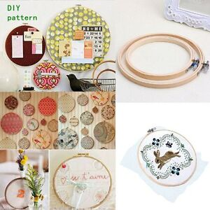 Frame-Hoop-Ring-Embroidery-Cross-Stitch-Sewing-Tool-DIY-Art-Craft-Accessories