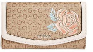 b361649212 GUESS Wallet  Take a Dive SLG  Zip Evelope Style Mocha w  G Logo ...