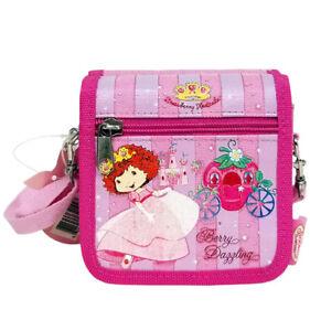 New STRAWBERRY SHORTCAKE Children's Girls PURSE Bag Zip NWT