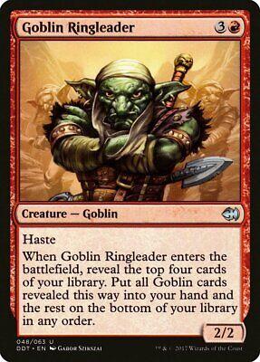 4 x GOBLIN RINGLEADER NM mtg Merfolk vs Goblins Red Goblin Unc
