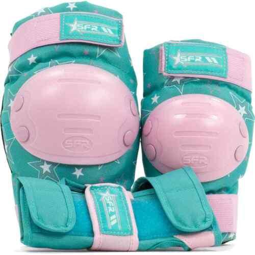 SFR Star Triple Pad Set Pink//Green