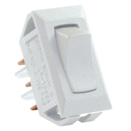 JR Products 12635 White SPDT On//On Switch