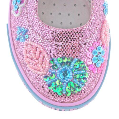 Daisy Dolly gc01 Glitter Kelly Schuhe Sparkle Lelli Lk9080 verstellbare Pink I4xXw8n