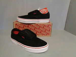 f9197319 Details about Youth VANS Chima Ferguson Pro Black & Chili Pepper Kids Skate  Shoes NIB New