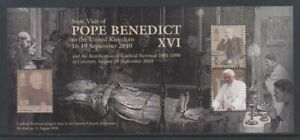 Isle-of-Man-2010-State-Visit-Pope-Benedict-XVI-sheet-MNH-SG-MS1617