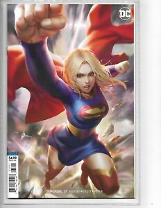 Supergirl #37 // Derrick Chew Variant cover