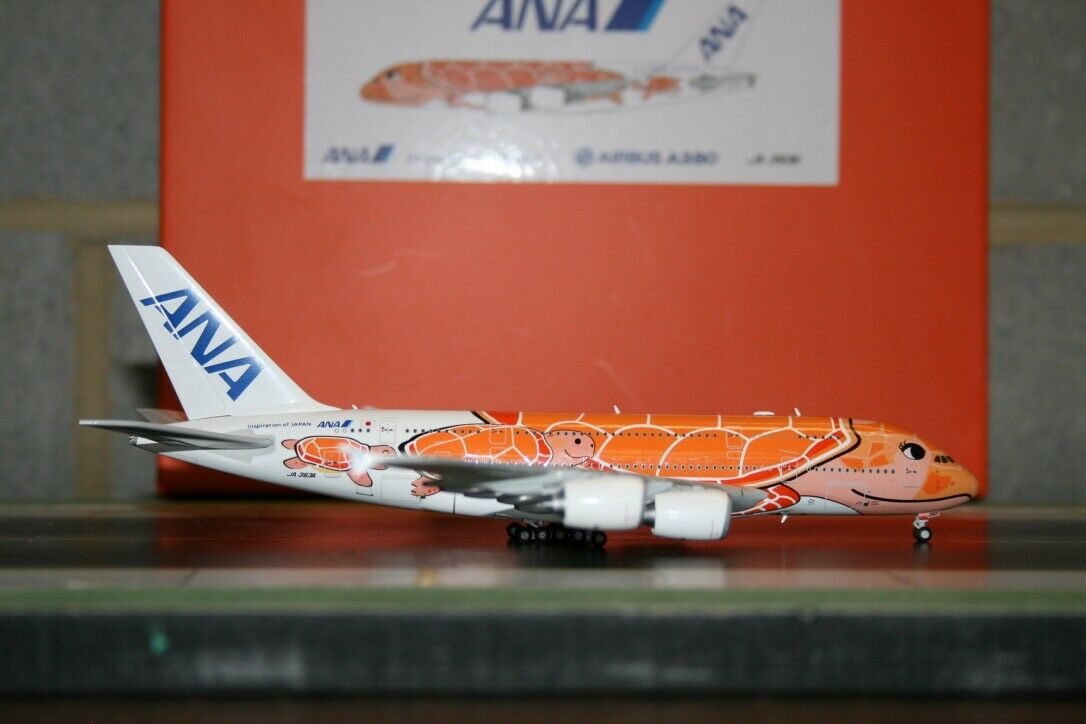 JC Wings 1 400 ANA All Nippon Airbus A380-800 JA383A  Ka La Turtle  (EW4388004)