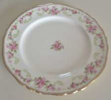 """VINTAGE/ANTIQUE ALFRED MEAKIN ROSE BOWER 10"""" PLATE FROM THE HARMONY SHOPPE"""