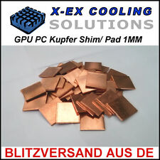 [KUPFER] 1MM GPU Shim/Wärmeleitpad →Laptop Reparatur Repair Thermal Pad Copper