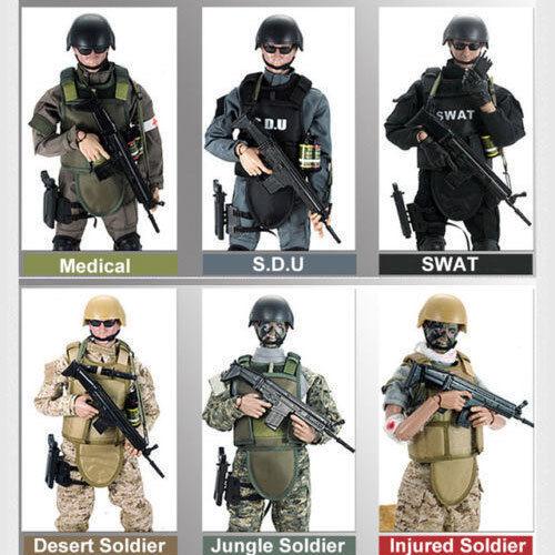 "1//6 Soldier 12/"" Action Figure Doll Military Army Suit Uniform Clothes Set Model"
