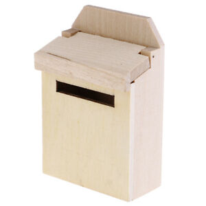 1-12-Dollhouse-Miniature-Mini-Wooden-Mailbox-Furniture-Model-ToyALQA