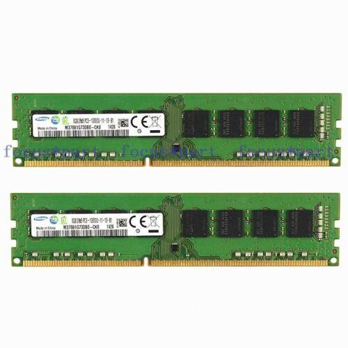 Samsung 2X8GB  DDR3 1600MHz PC3-12800 240pin DIMM Desktop Memory RAM Non-Ecc