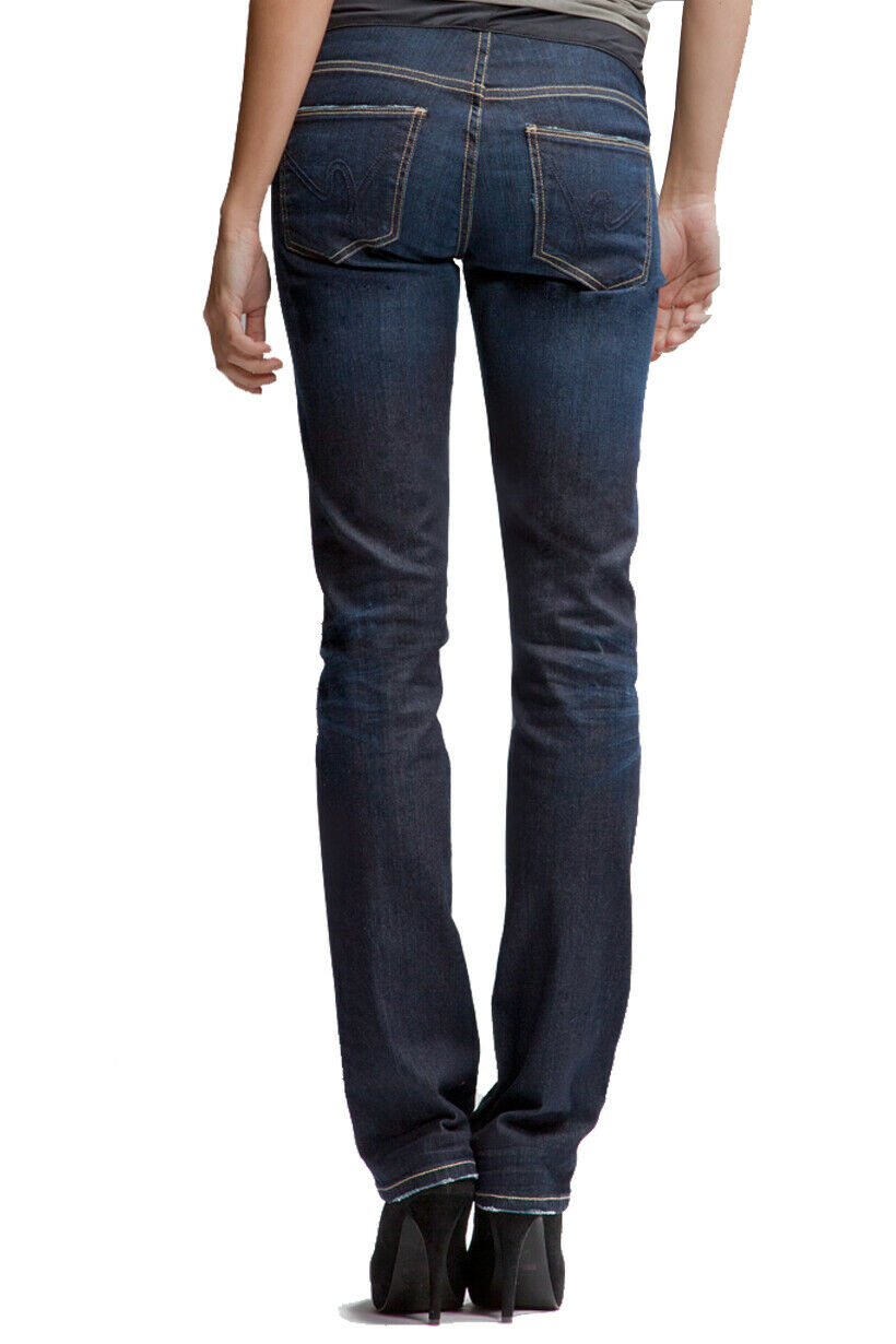 New W Tags Citizens Of Humanity Ava Maternity Straight Leg Jeans 28 X 33.5