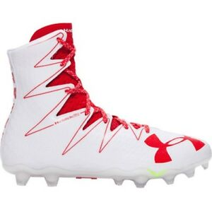 red under armour football cleats