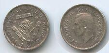 G3156 - Südafrika 3 Pence 1942 KM#26 Silber George VI. South Africa Suid-Afrika