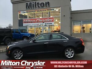 2016 Cadillac ATS LUXURY COLLECTION AWD|LEATHER|SUNROOF|NAVIGATION