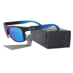 ab2c515eaf Image is loading Oakley-OO-9102-D255-POLARIZED-HOLBROOK-Sapphire-Fade-
