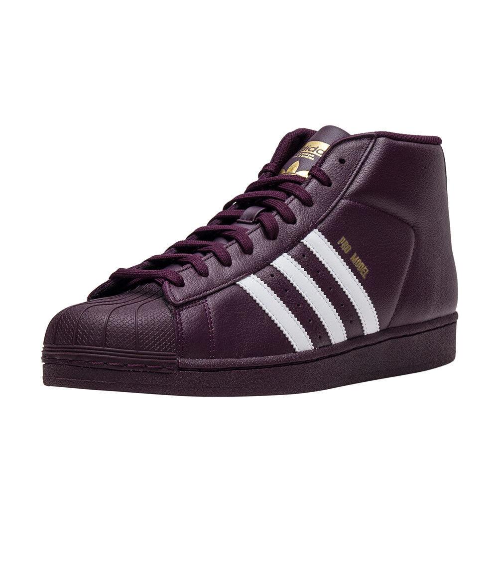 Men's Burgundy Adidas Pro Model Size 9 Very Nice!!!