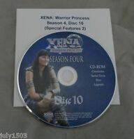 Genuine Xena Warrior Princess Season 4 Special Features Cd-rom, Free Ship