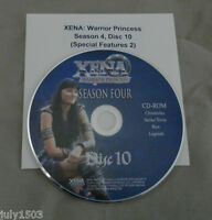 Genuine Xena Warrior Princess Season 4 Special Features Cd-rom, Free Ship